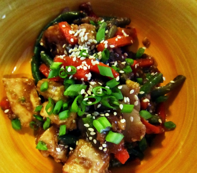 Teriyaki Chicken in the Crockpot