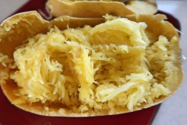 Spaghetti Squash in the Crock Pot