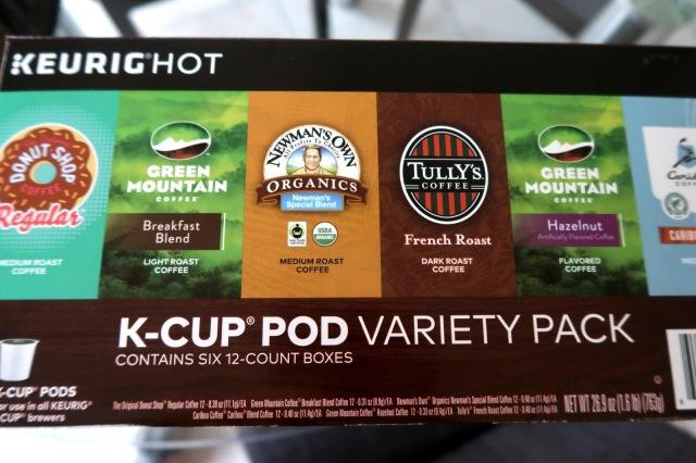Keurig Hot KCup Pod Variety Pack