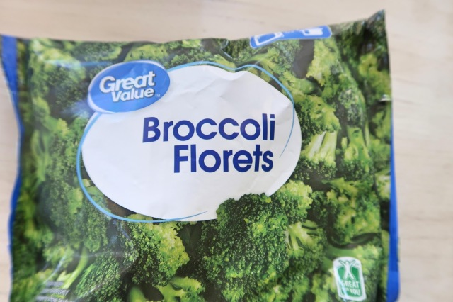 Broccoli Florets $1.00 at Walmart