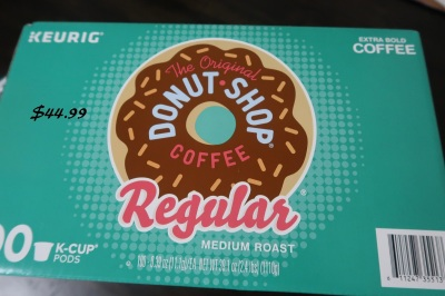 100 count KCups Donut Shop Costco