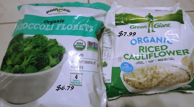 organic frozen vegetables from costco