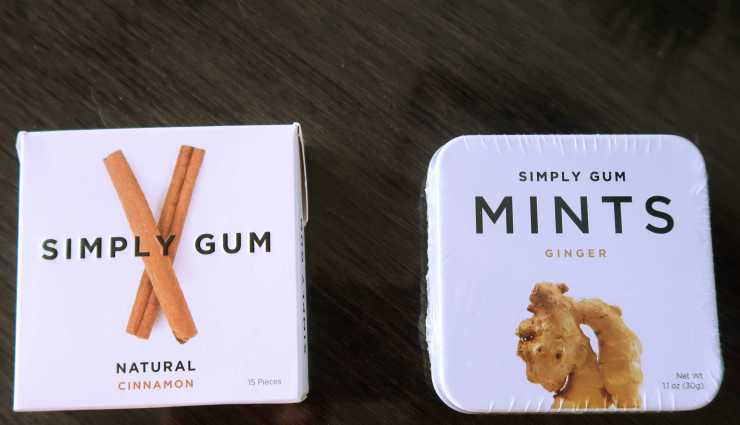 Simply Gum Whole Foods $2.00