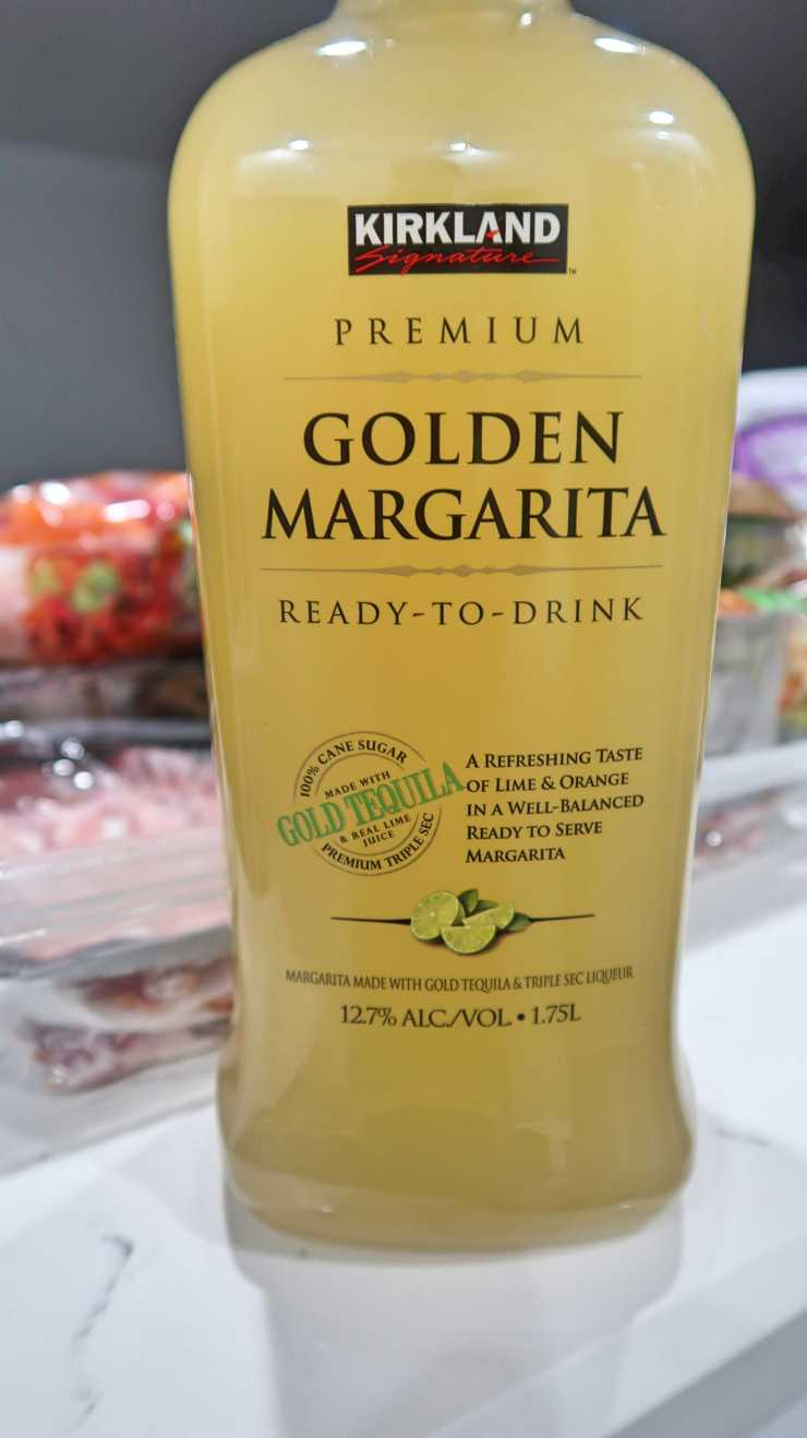 Kirkland Golden Margarita Mix 8.49 less 4-3-19