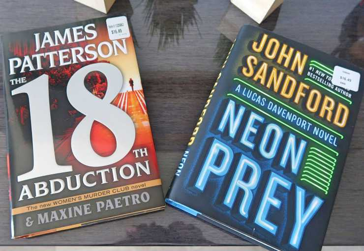 James Patterson The 18th Abduction and John Sandford Neon Pray